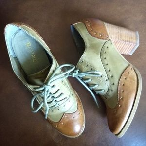 Restricted Leather Oxfords